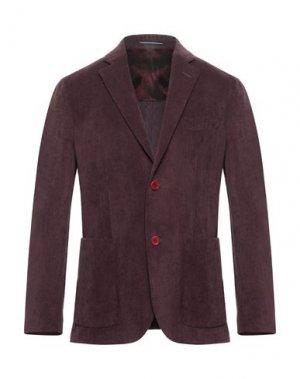 Пиджак ANDREA BARBERI. Цвет: розовато-лиловый