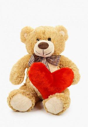 Игрушка мягкая Magic Bear Toys Медведь Марвин. Цвет: бежевый