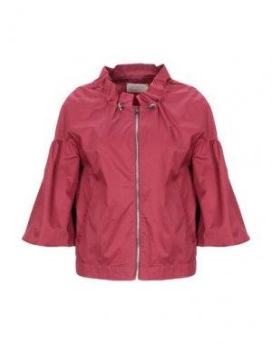 Легкое пальто KAOS JEANS. Цвет: красно-коричневый