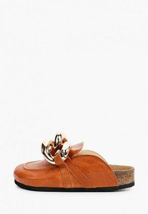 Мюли Grand Style. Цвет: коричневый
