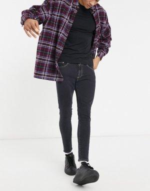 Черные джинсы скинни -Черный цвет Versace Jeans