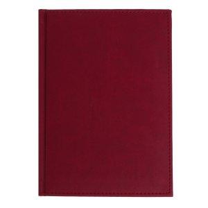 Ежедневник датированный а5 на 2022 год, 168 листов, обложка искусственная кожа vivella, бордовый Calligrata