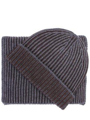 Комплект шапка и шарф JOHNSTONS