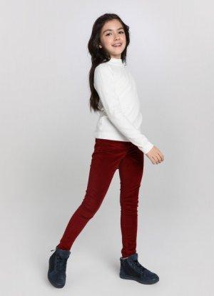 Джемпер для девочек O`Stin. Цвет: жемчужный/белый