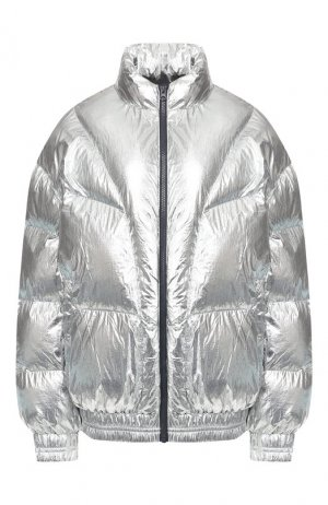 Утепленная куртка Isabel Marant Etoile. Цвет: серебряный