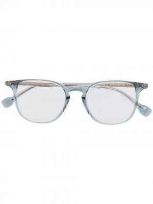 Солнцезащитные очки Oliver GIGI STUDIOS. Цвет: синий