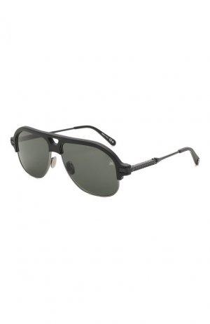 Солнцезащитные очки Philipp Plein. Цвет: чёрный
