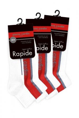 Спортивные укороченные носки Pierre Cardin. Цвет: белый