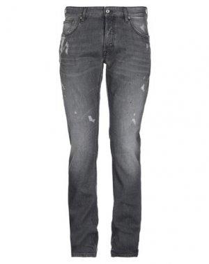 Джинсовые брюки JUST CAVALLI. Цвет: свинцово-серый