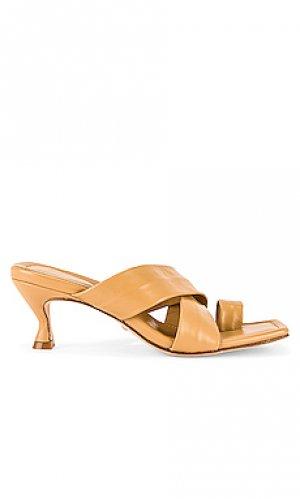 Туфли на каблуке ames RAYE. Цвет: цвет загара