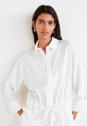 Рубашка Mango - URBAN. Цвет: белый