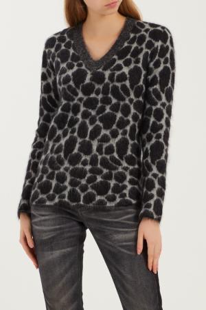Пуловер с узором Gucci