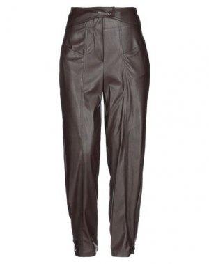 Повседневные брюки BABYLON. Цвет: коричневый