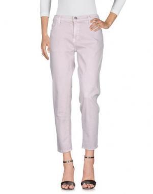 Джинсовые брюки CURRENT/ELLIOTT. Цвет: светло-серый