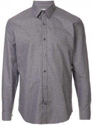 Рубашка кроя слим Cerruti 1881. Цвет: серый