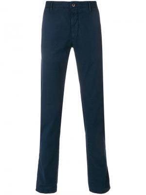 Облегающие брюки чинос Incotex