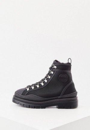 Ботинки Furla. Цвет: черный