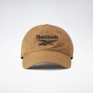 Кепка Active Foundation Badge Reebok. Цвет: sepia