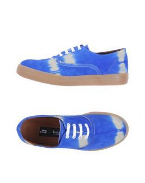 Низкие кеды и кроссовки B-STORE. Цвет: ярко-синий