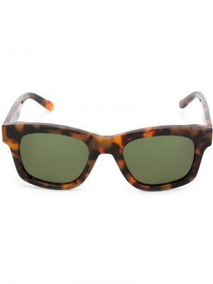 Солнцезащитные очки Type 01 Sun Buddies. Цвет: коричневый