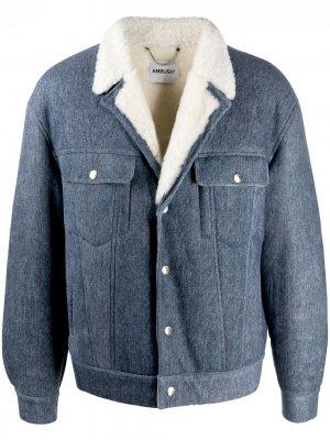 Джинсовая куртка AMBUSH. Цвет: синий
