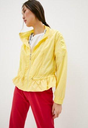 Ветровка Liu Jo Sport. Цвет: желтый