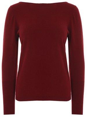 Пуловер кашемировый Gran Sasso. Цвет: бордовый