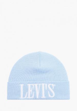 Шапка Levis® Levi's®. Цвет: голубой