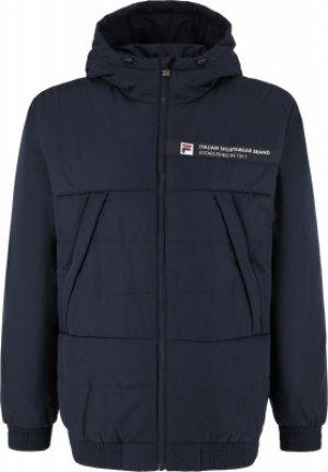 Куртка утепленная мужская , размер 52-54 FILA. Цвет: синий