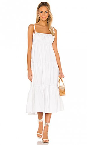 Платье mintz Lovers + Friends. Цвет: белый