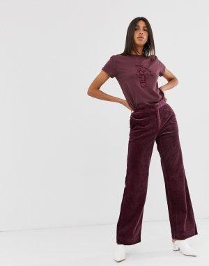 Широкие брюки 2NDDAY Ambra-Красный 2nd Day