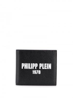 Бумажник French Philipp Plein. Цвет: черный