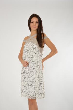Платье COP.COPINE. Цвет: белый