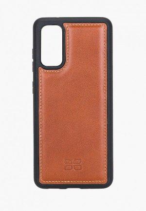 Чехол для телефона Bouletta Samsung Galaxy S20. Цвет: коричневый