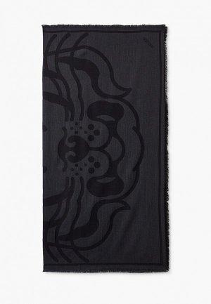 Платок Kenzo. Цвет: серый