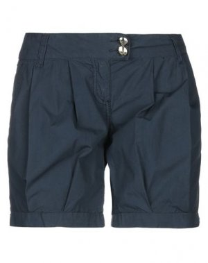 Повседневные шорты BETTY BLUE. Цвет: синий