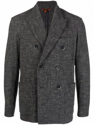 Двубортный пиджак Barena. Цвет: серый