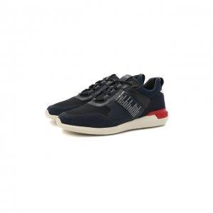 Комбинированные кроссовки No code Tod's. Цвет: синий