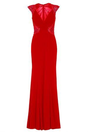 Платье Dynasty. Цвет: красный
