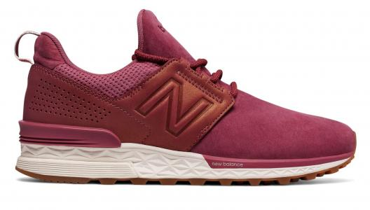 Кроссовки Nubuck 574 New Balance. Цвет: розовый