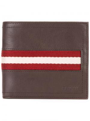 Бумажник Tollent Bally. Цвет: коричневый
