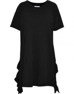 Короткое платье CURRENT/ELLIOTT. Цвет: черный