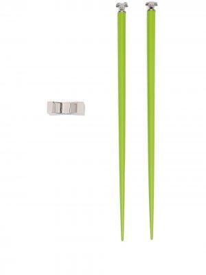 Палочки для еды Chinese Zodiac Ox Shanghai Tang. Цвет: зеленый