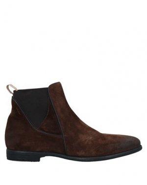 Полусапоги и высокие ботинки ALEXANDER HOTTO. Цвет: коричневый