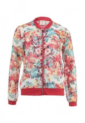 Куртка Sela. Цвет: разноцветный