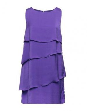 Короткое платье G.SEL. Цвет: фиолетовый