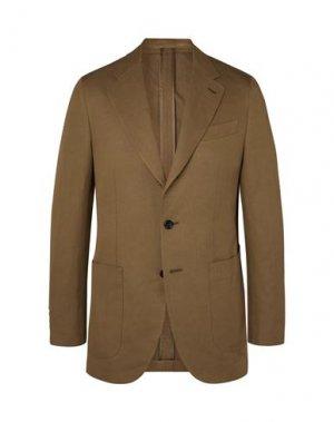 Пиджак CARUSO. Цвет: коричневый