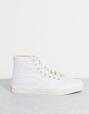 Белые кроссовки SK8-Hi Tapered Eco ory-Белый Vans