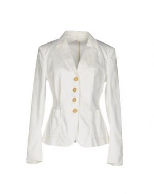 Пиджак 6267. Цвет: белый