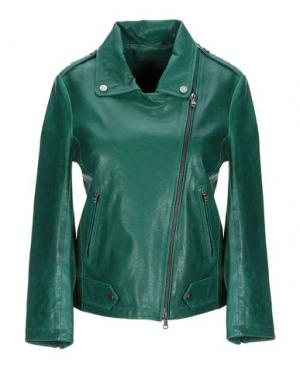Куртка ENES. Цвет: зеленый
